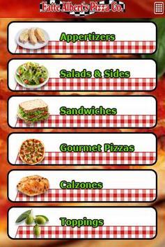 Fatte Albert's Pizza poster