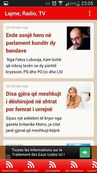 Lajme Shqip poster