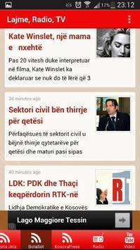 Lajme Shqip apk screenshot