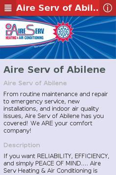 Aire Serv of Abilene apk screenshot