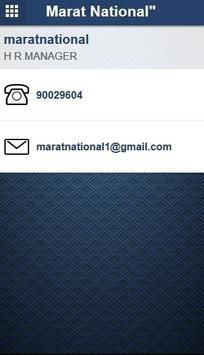 Marat National apk screenshot