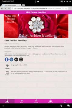 K&M Fashion Jewellery apk screenshot