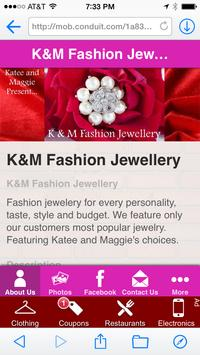 K&M Fashion Jewellery poster
