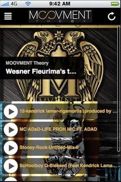 MOOVMENT Theory™ // MOBILE APP screenshot 1