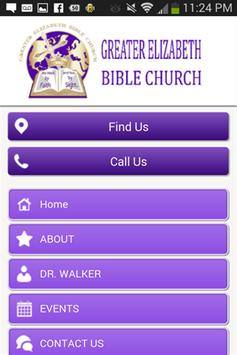 Greater Elizabeth Bible Church screenshot 1