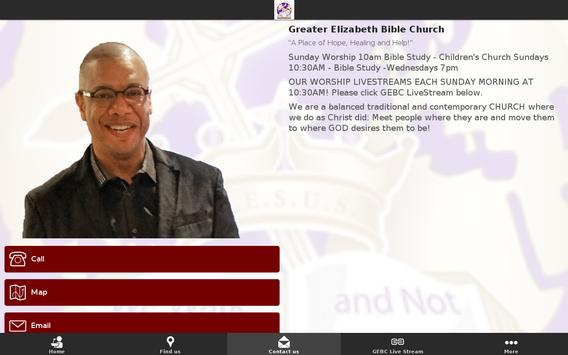 Greater Elizabeth Bible Church screenshot 3
