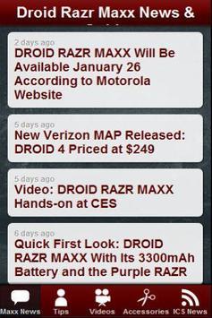 Droid Razr Maxx News & Tips apk screenshot