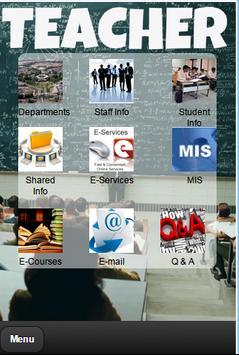 College Mobile Application screenshot 1