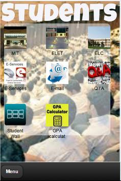 College Mobile Application screenshot 2