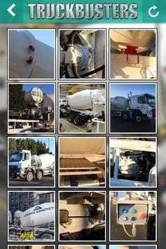 Truckbusters Mixer Trucks poster