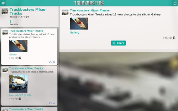 Truckbusters Mixer Trucks apk screenshot