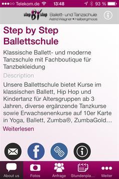 Step by Step - Ballettschule apk screenshot