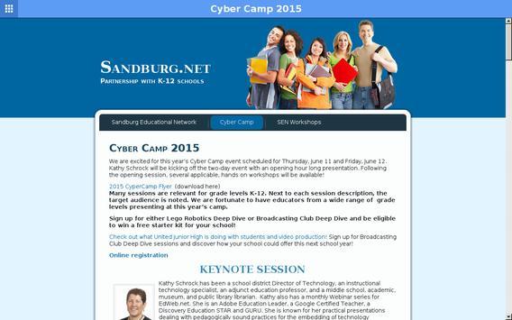 CSC Cyber Camp apk screenshot