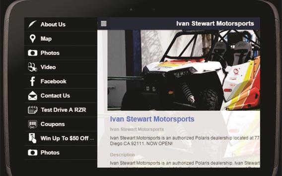 Ivan Stewart Motorsports apk screenshot