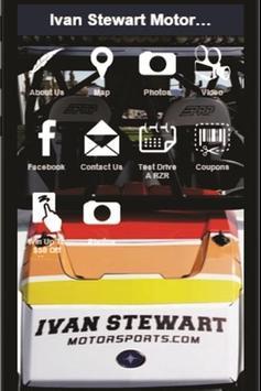 Ivan Stewart Motorsports poster
