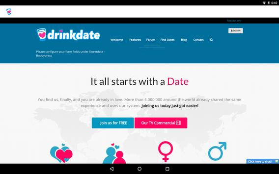 DrinkDate apk screenshot