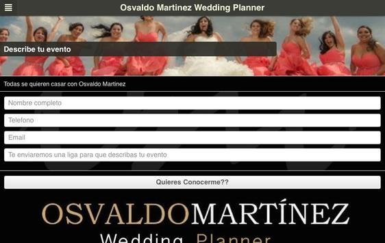 Osvaldo Martinez Planner screenshot 4