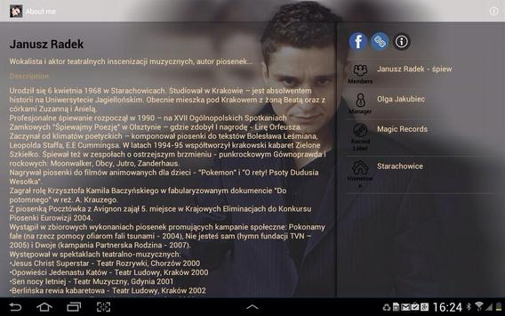 Janusz Radek screenshot 2