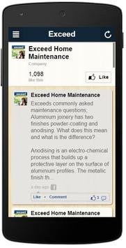 Exceed Maintenance apk screenshot