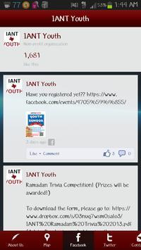 ... IANT Youth apk screenshot ...