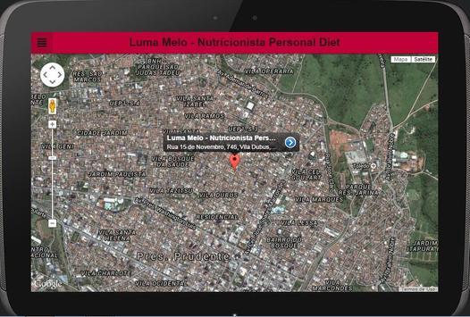 Luma Melo Nutricionista apk screenshot