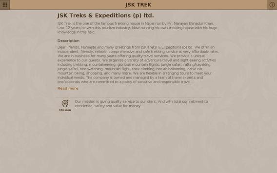JSK TREK apk screenshot