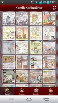 Komik Karikatürler apk screenshot