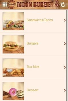 Moon Burger Sandwicherie poster