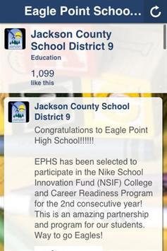 Eagle Point School District poster