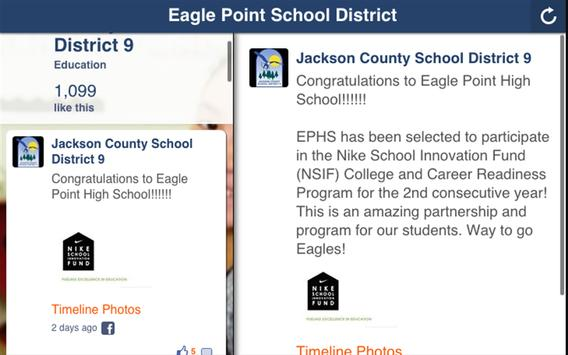 Eagle Point School District screenshot 3