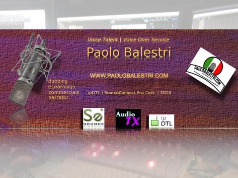 PaoloTheVoice - Voice Over ITA apk screenshot