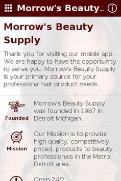 Morrow's Beauty Supply poster