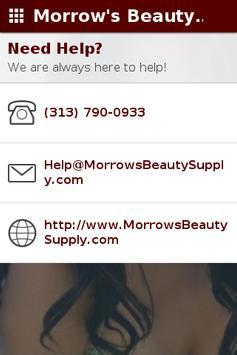 Morrow's Beauty Supply apk screenshot