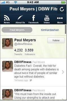 DBIW Fitness screenshot 2