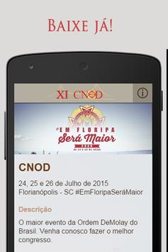 CNOD Floripa poster