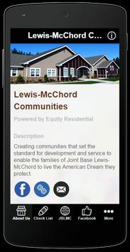 Lewis-McChord Communities poster