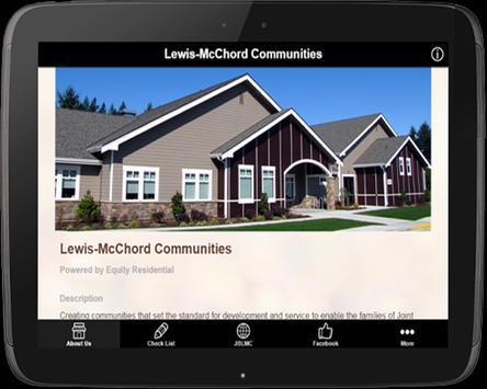 Lewis-McChord Communities apk screenshot