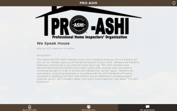 PRO-ASHI apk screenshot
