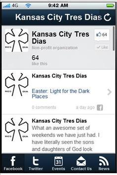 Kansas City Tres Dias apk screenshot