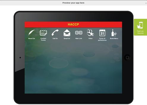 HACCP apk screenshot