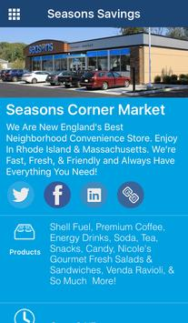 Seasons Corner Market poster