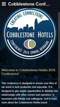 Cobblestone Conference poster