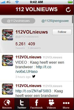 112 VOLnieuws apk screenshot