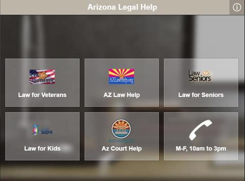 Arizona Legal Help screenshot 1