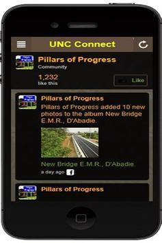 UNC Connect poster