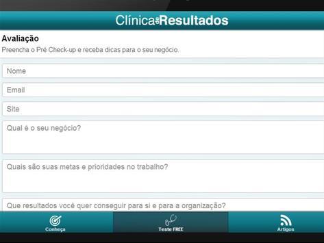 Clínica de Resultados screenshot 3