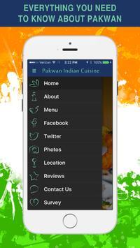 Pakwan Indian Cuisine screenshot 1