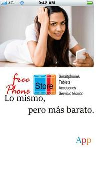 Free Phone Store poster