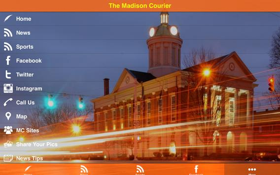 The Madison Courier apk screenshot