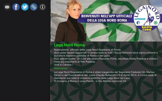 Lega Nord Roma apk screenshot